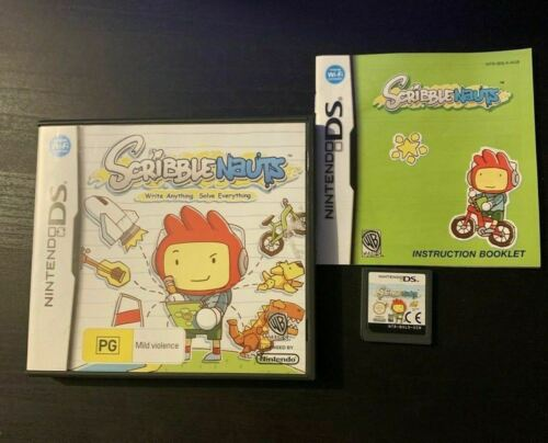 ScribbleNauts - Nintendo DS Game With Manual