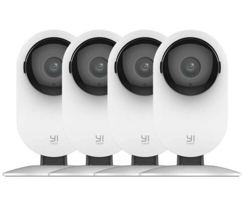 YI 4pc Home Camera 1080p Wireless IP Security Surveillance System Night Vision <br/> Certified Refurbished. 2-Year Warranty +FREE Shipping