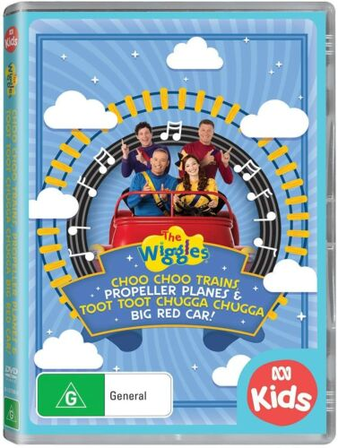 BRAND NEW The Wiggles - Trains, Planes & Big Red Car (DVD, 2020) *PREORDER R4