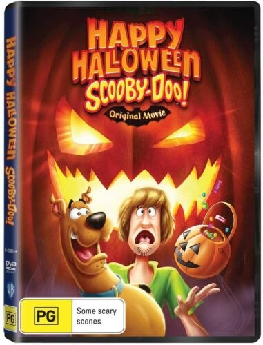 BRAND NEW Scooby-Doo! Happy Halloween (DVD, 2020) *PREORDER R4 Original Movie