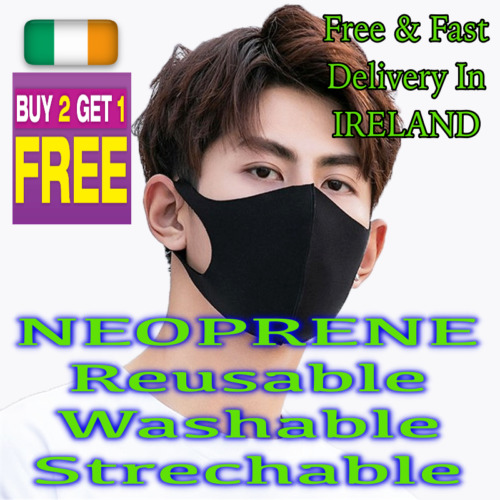 Breathable Face Mask Reusable Washable Strong Free Post High Quality Buy2Get1Fre
