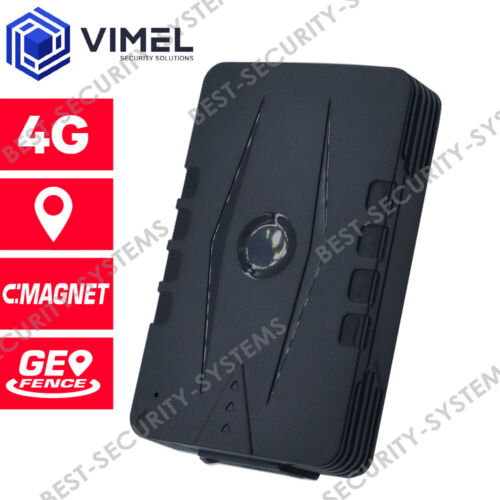 Vehicle 4G GPS Tracker 6000mAH Real Time LIVE Monitoring Waterproof Magnetic