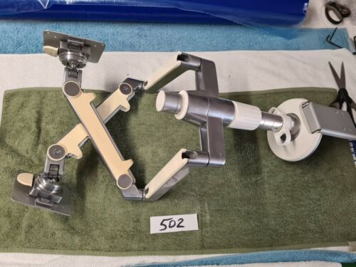 HUMANSCALE Double monitor arm and fixing base in good condition #1502