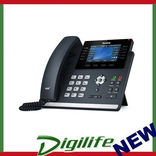 """Yealink T46U 16 Line IP phone, 4.3"""" 480x272 pixel Colour LCD with backlight"""