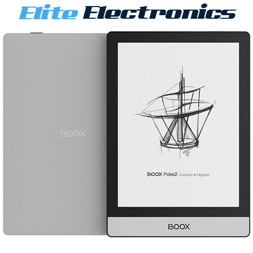 "ONYX BOOX Poke2 6"" Android eReader eBook E-Ink HD Carta Display 32GB Wi-Fi"