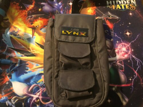 Genuine Atari Lynx Console Travel Carry Bag Case with 2 Game slots