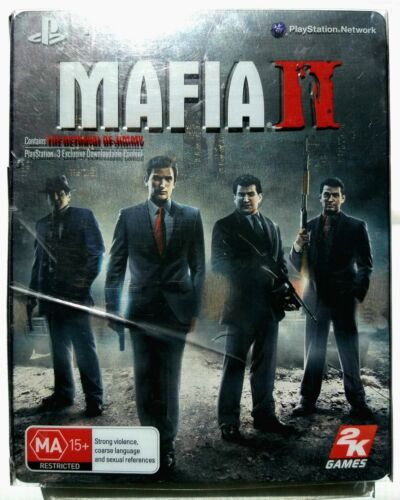 Mafia II 2 Collector's G1 Steelbook Limited Edition | Sony Playstation 3 PS3