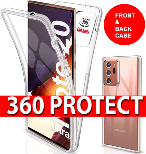 360 CLEAR Case For SAMSUNG GALAXY NOTE 20 / 20 Ultra Shockproof Ultra Slim Cover