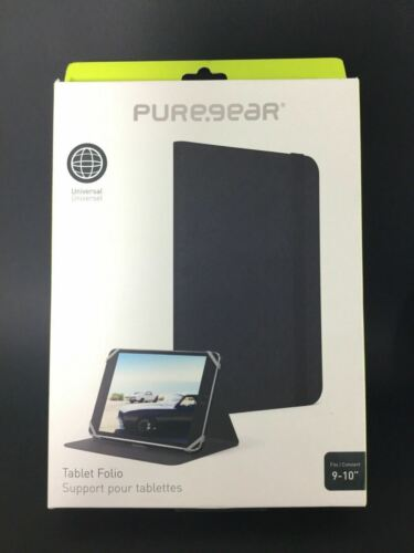 """Pure-Gear Universal Tablet Folio Cover Case for 9"""" & 10"""" inch screens AU Sellers"""