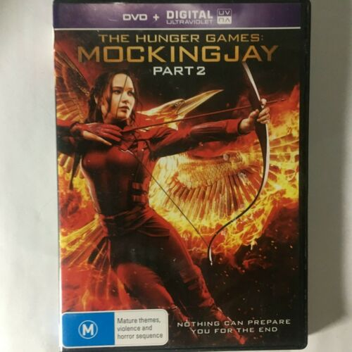 THE HUNGER GAMES MOCKINGJAY PART 2 - DVD - R4 - VGC - FREE POST