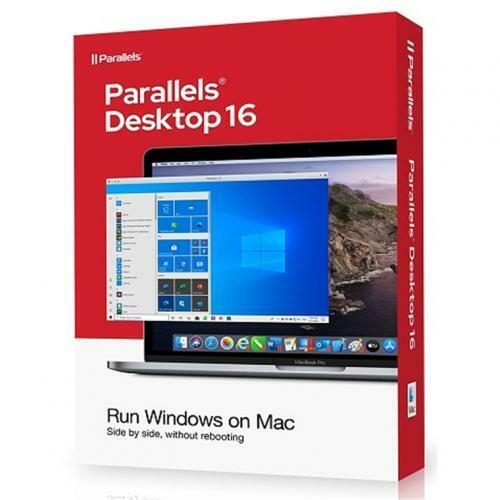 Parallels Desktop 16 for Mac, 1-year license, Mac, Academic, Physical License