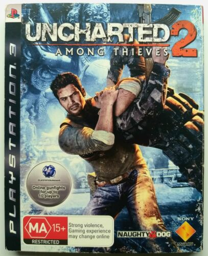 Uncharted 2 Digipak Special Collector's Limited Edition | Sony Playstation 3 PS3