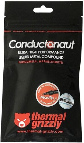 Thermal Grizzly Conductonaut Thermal Compound 1g - Liquid Metal