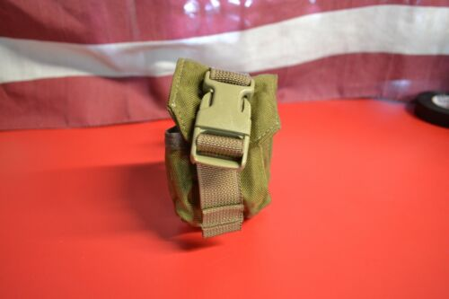 US Army Military Surplus MOLLE Coyote Tan Frag Hand Grenade Pouch MARSOC EXCPouches - 158437