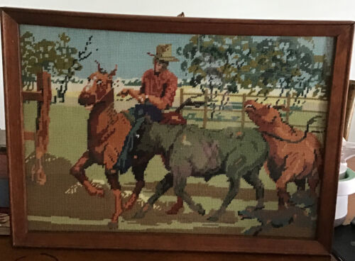 """"""" The Muster """" Artistically and Beautifully Created And Framed Tapestry"""