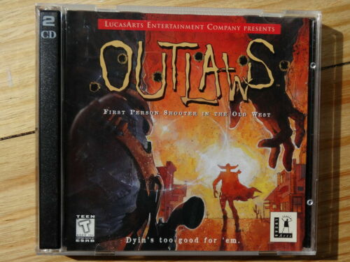 Outlaws - PC Games - CD ROM - LucasArts