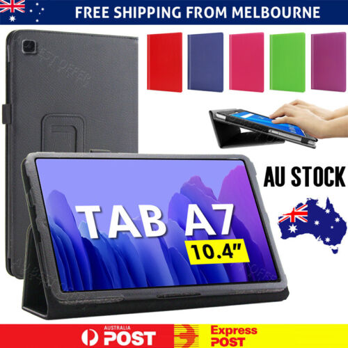 For Samsung Galaxy Tab A7 10.4 2020 Flip PU Leather Tablet Fold Stand Smart Case