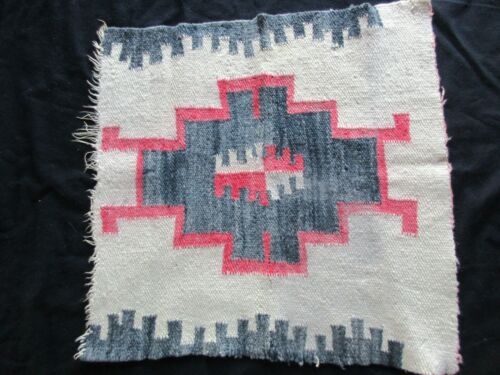 SOUTHWEST DESIGNED RUG, BLANKET, TABLE COVER 18X18 HAND WOVEN, CHI-0920*04930