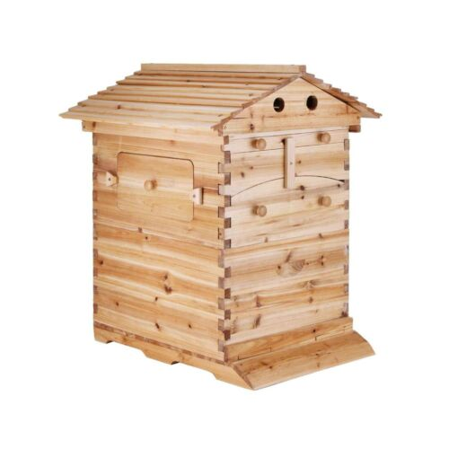Auto Beehive Box Bee Hives 7 Langstroth Wooden Honey Beekeeping Hive Boxes