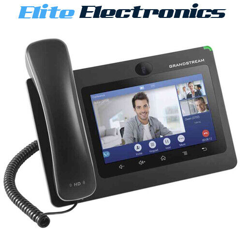 """Grandstream GXV3370 16 Line Android IP Phone 7"""" Colour Display PoE"""