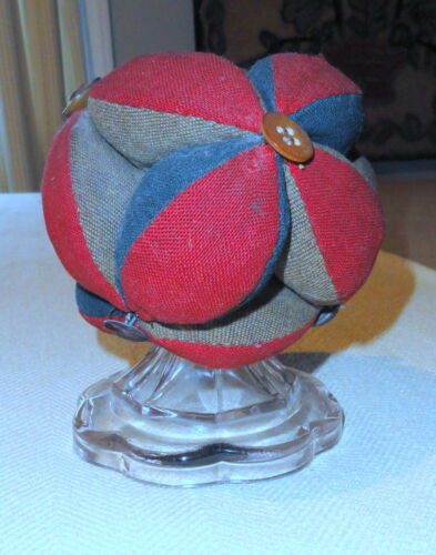 Collection of 4 Make-do Pin Cushions
