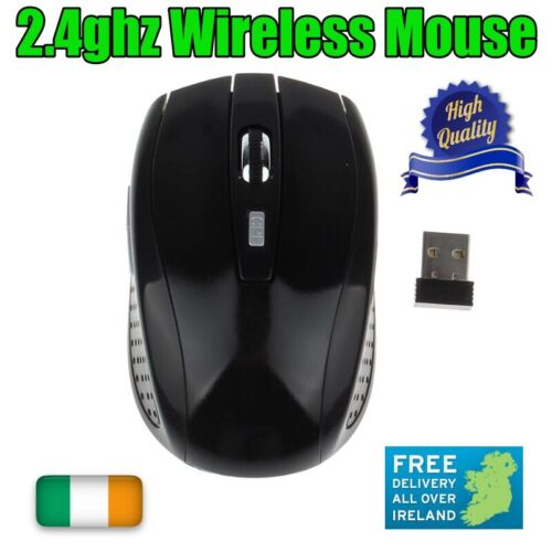 Wireless Mouse 2.4GHz Optical Cordless Mouse Desktop Laptop Gamer USB Receiver