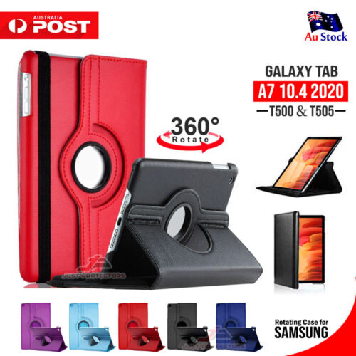 "For Samsung Galaxy Tab A7 2020 10.4"" SM- T505/500 Smart Leather Stand Case Cover"