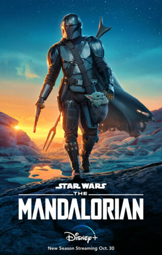"""The Mandalorian ( 11"""" x 17"""" ) Movie Collector's Poster Print - (T10)  B2G1F"""