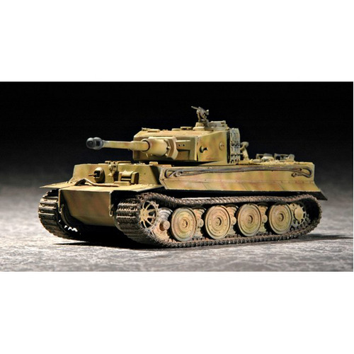 Trumpeter 07244 1/72 Tiger 1 tank (Late) - TR07244