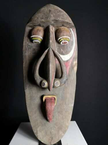 Large Washkuk Kwoma Spirit Mask, Namau Ablatar, Up. Sepik, Papua New Guinea, PNG