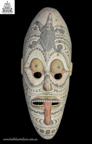 Large Ancestor Spirit House Mask, Sawos, PNG, Papua New Guinea, Oceanic