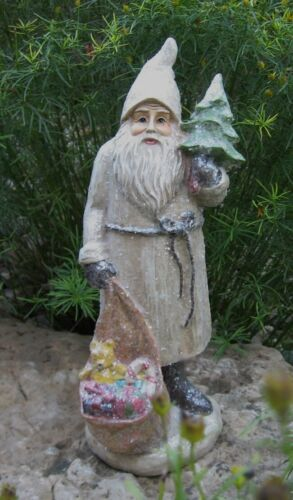 Belsnickle SANTA w/Toy Sack*Primitive/French Country Christmas/Farmhouse Decor