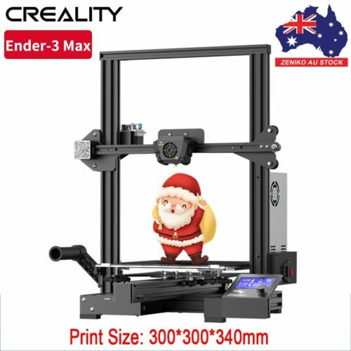 AU Creality Ender-3 Max 3D Printer Kit 300*300*340mm TMC2208 Silent Mainboard