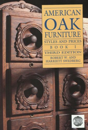 American Oak Furniture – Desks Beds Cabinets Chairs incl Mission / Book + Values
