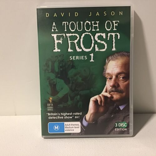 A Touch Of Frost Series One (1) - David Jason FREE POST! (VGC) R4 DVD TV SERIES