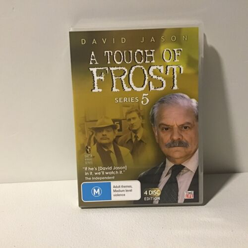 A Touch Of Frost Series Five (5) - David Jason FREE POST! (VGC) R4 DVD TV SERIES