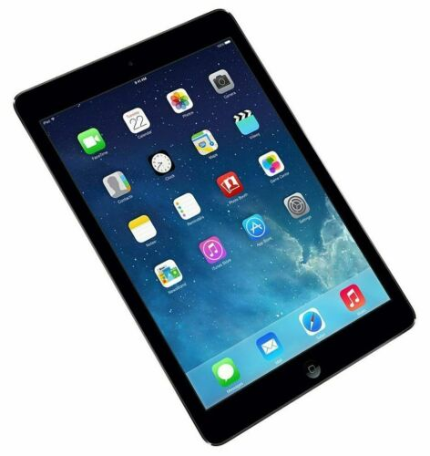 Apple iPad Air 1st Gen. 16GB, Wi-Fi, 9.7in - Space Grey Good Condition Free Ship