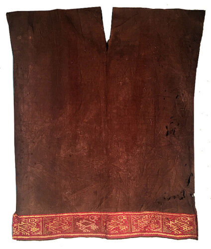 PRE-COLUMBIAN CHANCAY TUNIC WOVEN  CAMELID WOOL