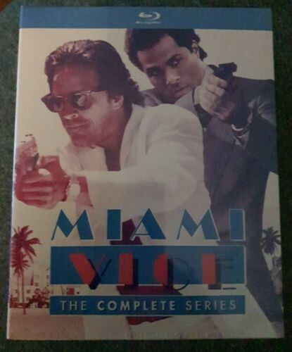Miami Vice: The Complete Series Blu-ray Brand New Sealed