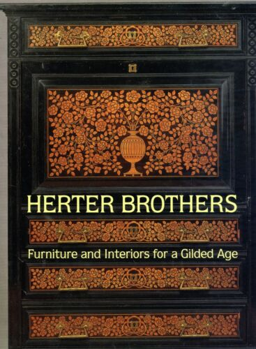 Herter Brothers Victorian Furniture -History Types Inlays / Scarce In-Depth Book