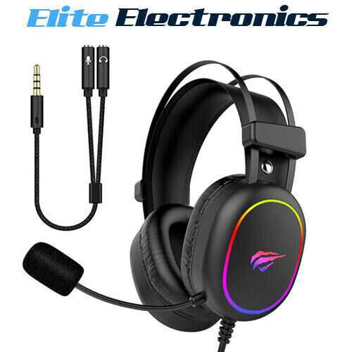 Havit H2016D RGB Gaming Headset Stereo Surround Sound HD Microphone