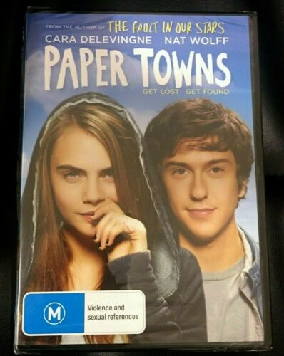 Paper Towns (2005 : 1 Disc DVD) Brand New Sealed in Plastic Region 4
