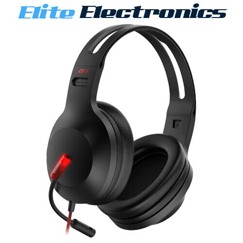 Edifier G1 USB Pro Gaming Headset NC Microphone LED Light PS4 PC