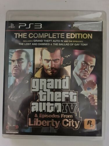 Grand Theft Auto IV & Episodes The Lost & Damned & The Ballad Of Gay Tony PS3