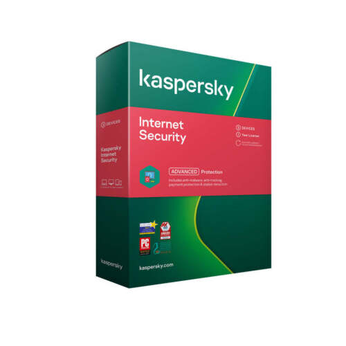 Kaspersky Lab Internet Security 2021 3 Devices 1 Year 2021 Email