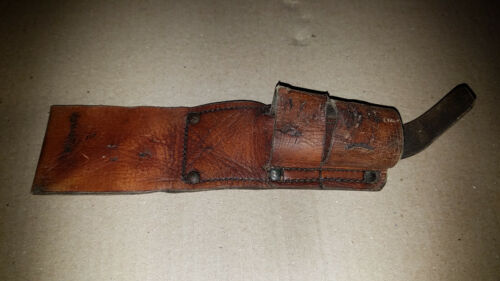 WW1 AUSTRALIAN 1908 PATTERN BAYONET MARKED LEATHER FROG1914 - 1918 (WWI) - 13962