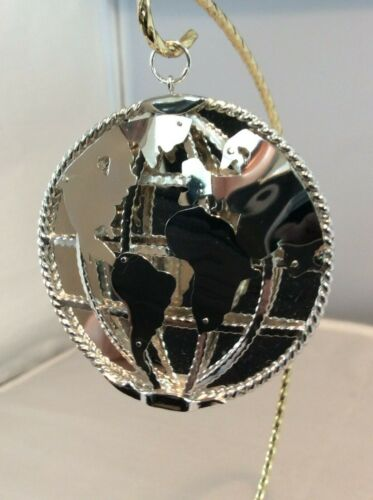 Baron World 3-D  limited edition sterling ornament   #10146