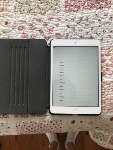 iPad mini- 1st generation. Silver.