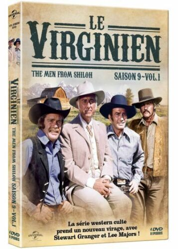 Le Virginien - Saison 9 - Volume 1 - Coffret 4 DVD
