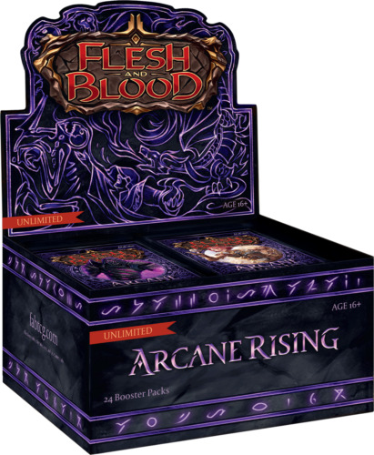 Flesh and Blood TCG - Arcane Rising Unlimited - Booster Box